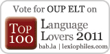 Vote for OUP ELT in the Top 100 Language Lovers 2011