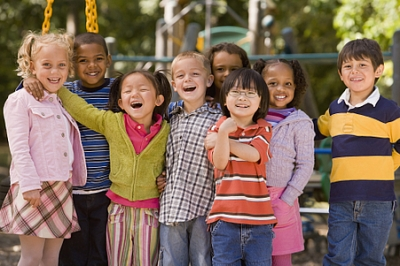 Children in playground