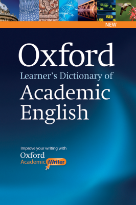 Oxford Learner's Dictionary of Academic English book cover